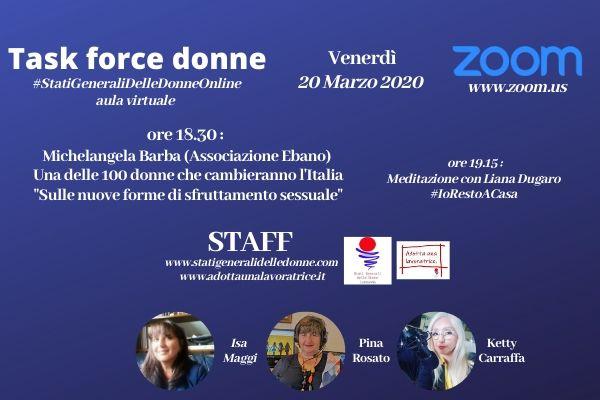 Incontri #statigeneralidelledonneonline (20.03.2020)